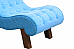 Ocean's Comfy Blue :: Resting Chair solid wood structure
