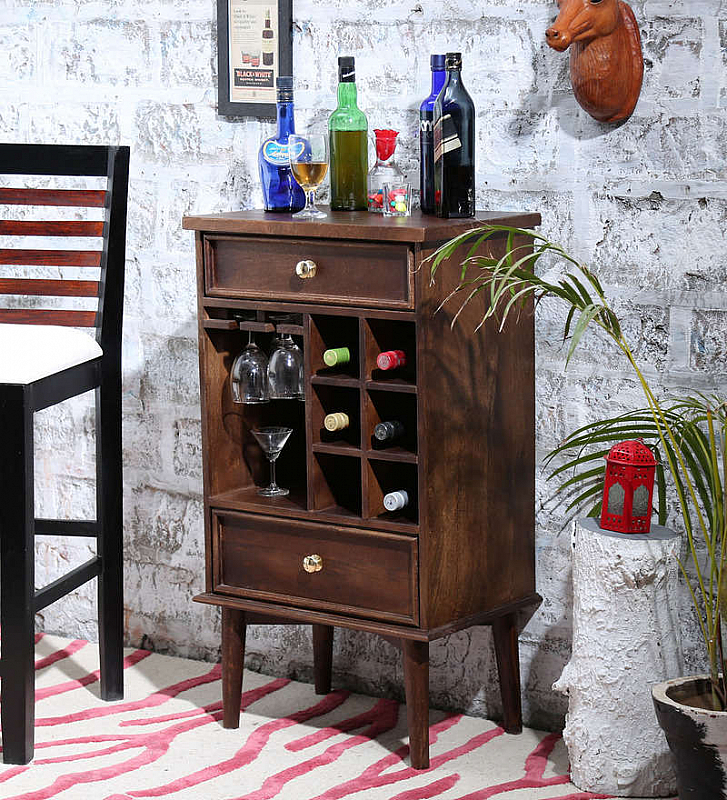 Elegant Bar Cabinet Sheesham