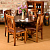Between the Lines :: Sheesham Dining Table