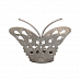Butterfly Candle Stand in Nickle