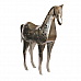 Horse Tea Light stand in nickle