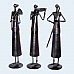 Worker Lady Set of 3