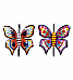 Butterfly Two Hook Set of 2