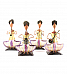 Sitting Musician Men Set of 4