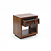 Antilia Diamond one drawer Bedside