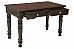 Victorian carved Home office table :: Royal Study table