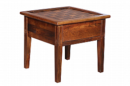 Royal 3 drawer chest cum End table :: Teliphone table