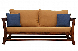 Shekhawati Sofa set of 3 pcs 3+1+1 Solid look @ Great price !!