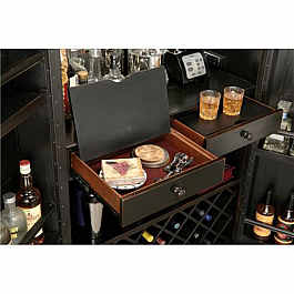 Nano Bar  Trolley :: Sheesham