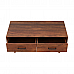 Solid Wood coffee Table with 2 drawers