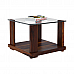 GLASS TOP CENTER TABLE