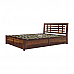 Easter ebco Hydraulic storage Queen wooden bed