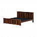 Yeshua Solid Wood King Size Bed