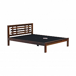 Dema Solid Wood King Size Bed