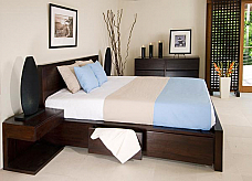 Designer Solid Wood Bedroom Set