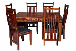 Sterling 6 chair and table Set Exclusive Induscraft design