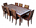 Brass Fitted Dining Table Set [ INDN46 ]