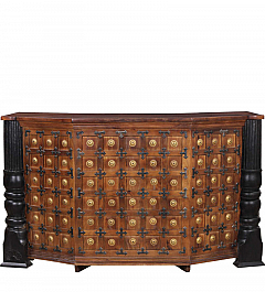 Haveli Bar cabinet Royal antique look piece of craft::Source Jodhpur