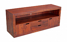 Wooden Plasma TV Entertainment Cabinet