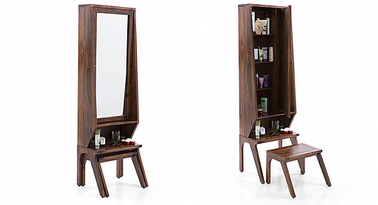 Joshua Dressing table with Stool : Best Design and Price