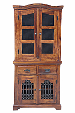 Spanish Crockery cabinet Hand Twisted Jali door