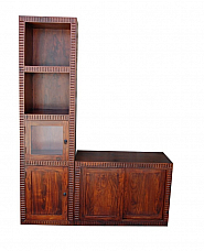 Long TV Stand Storage Cabinet
