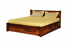 Jaccy Designer Queen size Bed with Storage Live simple !!