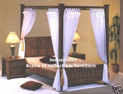 Royal Touch Four Poster Bedroom Set