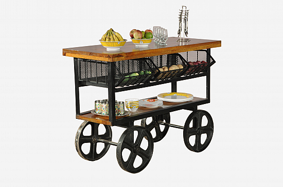 Urban attic Kitchen Cabinet :: Industrial furniture modern