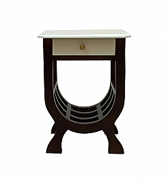 Solid Wood end table telephone stand Magazine rack