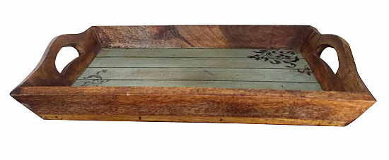 Wooden Modern Reclaimed Tray