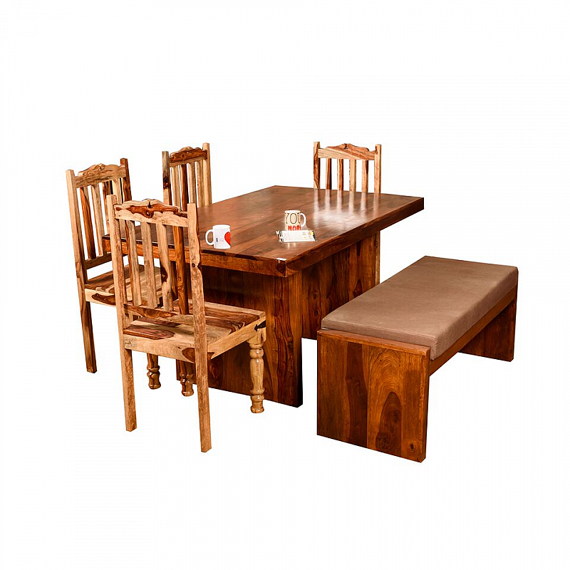 990463a8b8ce4 Indo Fusion-Dining Table 6 Seater