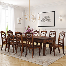 Macro Solid wood 10 seater Dining set