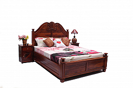 Wooden Bedroom Furniture Set of Three