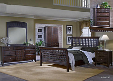 Wooden Handmade Italian Bedroom Set