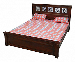 Jaccy Designer King size Bed with  Storage Live simple !!