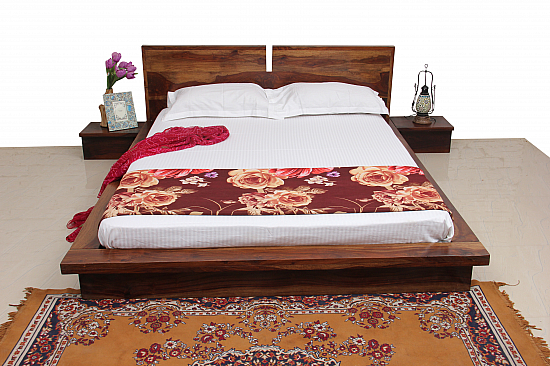 Zen Sleep :: Sheesham Queen Double Bed