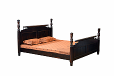 Sivan Queen size Bed Solid wood Rose wood finish