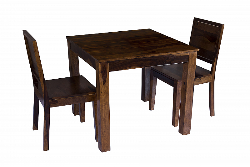 Arabia Solid Wood 2 Seater Dining Set