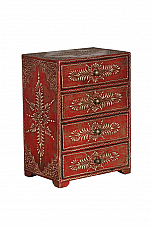 Happy Diwali Decor : Sia 6 drawer jwellery chest *Ready to ship