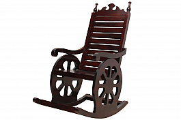 Chariot Rocking Chair :: Sheesham