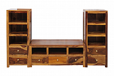 Angeliano TV Media Storage Cabinet unit Set of 3 pcs