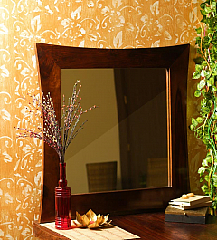 Bedroom Mirror with stylish carved Frame