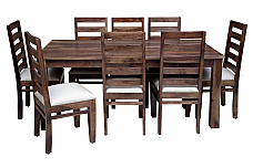 Tadashi Parallel Conversations :: High back sheesham dining set