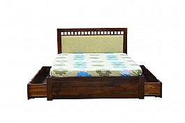 European Grand king Size bed with half storage