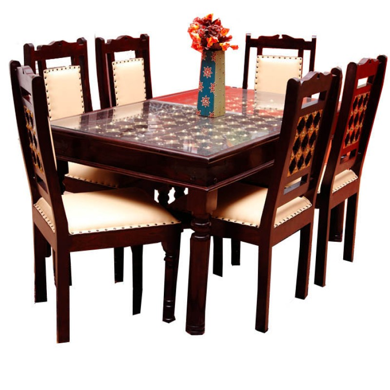 Fusion Dining Table Set Desire Of Ethnic Art From Jodhpur Best Art Dining Room Furniture