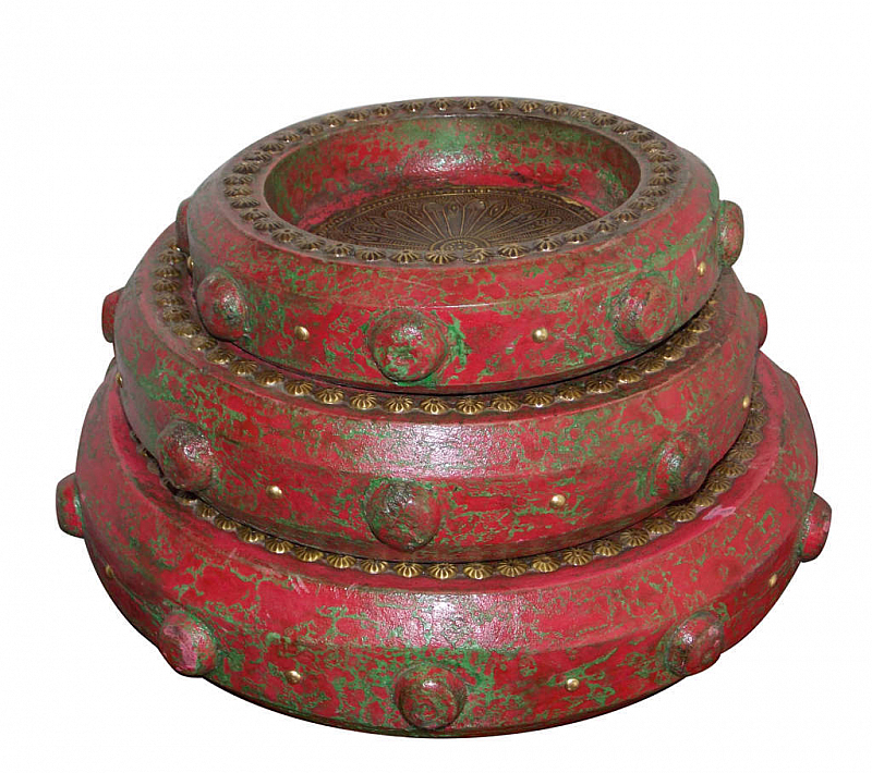 Recycle Tray Set Of 3 Buy Tray Online India Induscraft Com