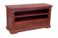 Ethnic Contemporary Two Drawer TV Cabinet