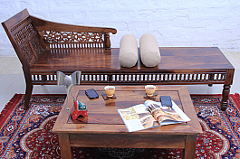 Amelia Sharma :: Daybed (Divan) with Storage :: Indo Fusion