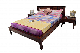 Ethina Modern Queen size Wooden bed Simple yet stylish